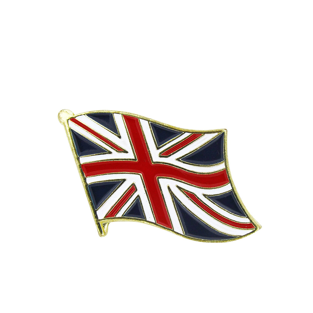 Badges lapel pins medals medallions cheap quality enamel plastic metal soft hard sports golf tennis football cheap personalised custom quality union jack